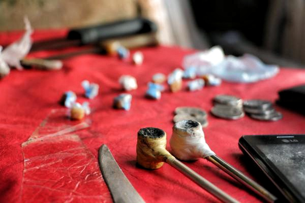Incautación de crack (chespi) en Asunnción del Paraguay. Foto: SENAD