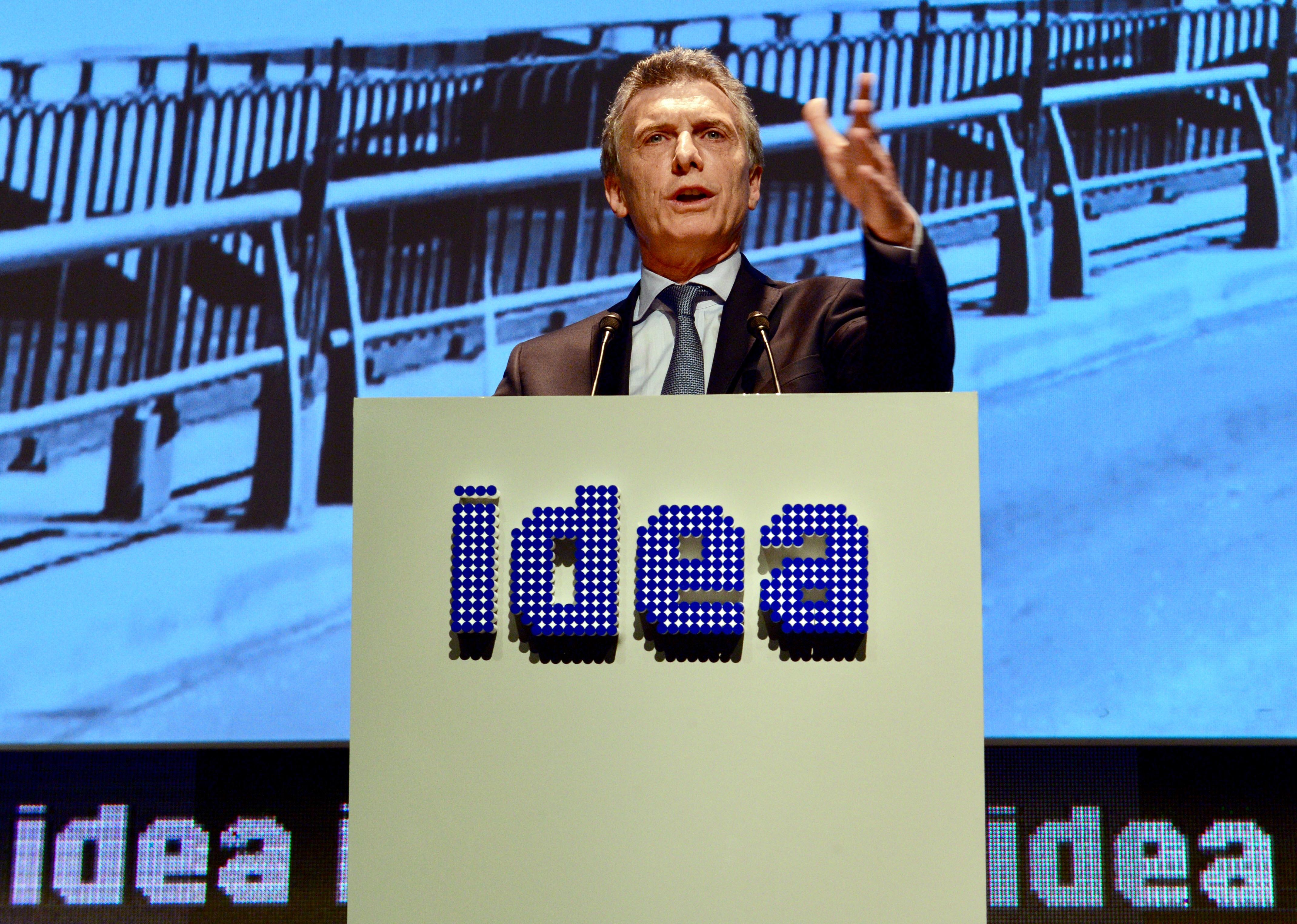 Mauricio Macri. Foto: Presidencia de Argentina.