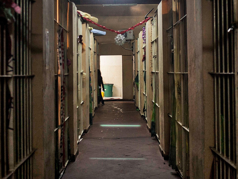 """Pabellón """"Alcatraz"""" de El Buen Pastor en Asunción. Foto: Santi Carneri"""